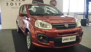 2017 Fiat Uno introduced in Brazil with new looks, engines