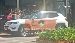 India-bound Jeep C-SUV (Jeep 551) fully revealed in spyshots