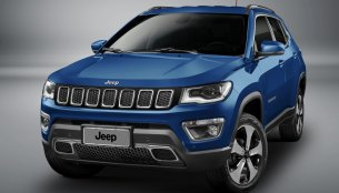 India-bound 2017 Jeep Compass unveiled