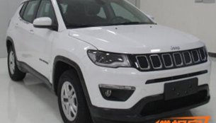 New images clearly reveal front and rear of the 2017 Jeep Compass