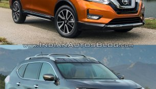 2017 Nissan Rogue (Nissan X-Trail) vs. 2014 Nissan Rogue - In Images