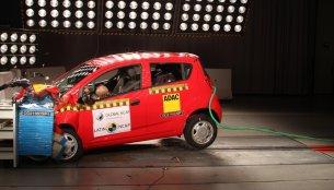 India-made Chevrolet Beat fails Latin NCAP crash test
