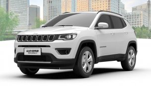 Fresh images of the 2017 Jeep Compass released in China