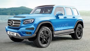 MFA2-based Mercedes GLB SUV coming to 2019 - Report
