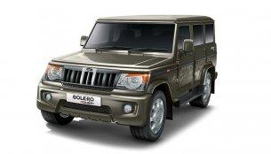 Mahindra Bolero to gain airbags and ABS - Report