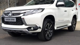IAB reader spots the 2017 Mitsubishi Shogun Sport in the UK for the 1st time