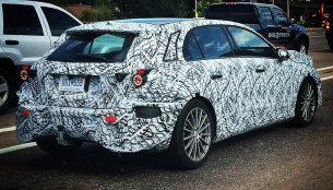 IAB reader spots the next-gen Mercedes A-Class testing in the USA
