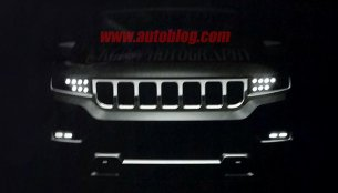 2019 Jeep Grand Wagoneer exterior leaked