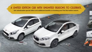 Fiat Punto Karbon, Fiat Linea Royale limited editions unveiled