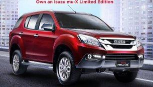 Isuzu mu-X limited edition comes to Philippines