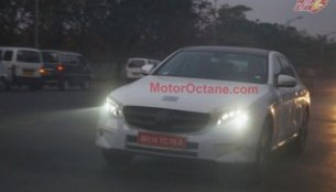 2016 Mercedes E Class (W213) spied testing in India for the first time