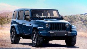 2018 Jeep Wranger, Jeep Wrangler Pickup rendered
