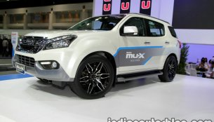 Isuzu MU-X production to be highly localised in India - Report