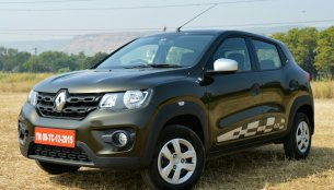 Renault Kwid 1.0L AMT (Renault Kwid Automatic) - First Drive Review