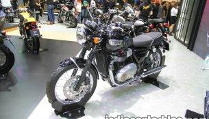 Triumph Bonneville T100 & Triumph Bonneville T100 Black - Thai Motor Expo Live
