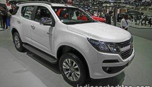 India-bound New Chevrolet Trailblazer (facelift) - Thai Motor Expo Live