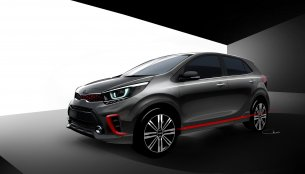 2017 Kia Picanto official sketches surface