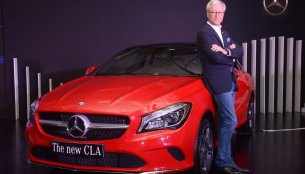 2017 Mercedes CLA launched in India at INR 31.4 Lakhs