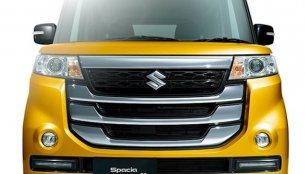 2017 Suzuki Spacia Custom Z front-end revealed - Japan