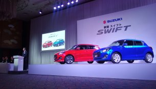2017 Suzuki Swift launched in Japan [24 photos]