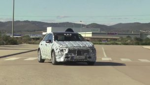 2018 Mercedes A Class (W177) spied testing in Spain - Video