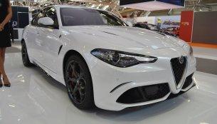 Alfa Romeo Giulia Veloce - Bologna Motor Show Live