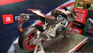 Aprilia RSV4 RF showcased at Thai Motor Expo