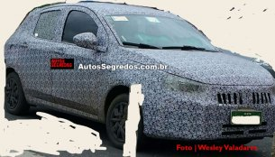 Fiat X6H spied testing with light camouflage