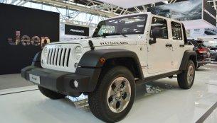 Jeep Wrangler Rubicon, Jeep Cherokee Night Eagle - 2016 Bologna Motor Show