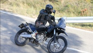 KTM 390 Adventure spotted testing in the wild