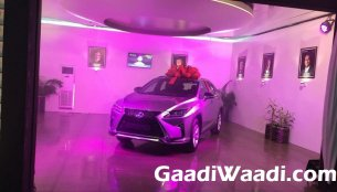 First Lexus RX delivered in India - Report