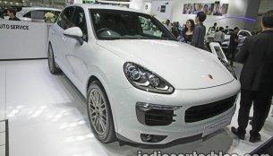 Porsche Cayenne S E-Hybrid Platinum Edition - Thai Motor Expo Live