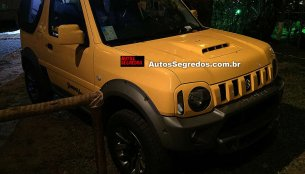 Suzuki Jimny Canvas spotted in Brazil