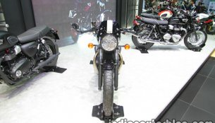 Triumph Street Cup showcased at Thai Motor Expo