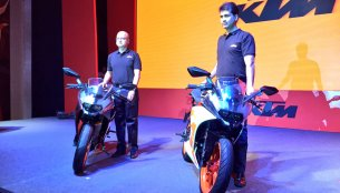 2017 KTM RC390 & 2017 KTM RC200 launched in India [Gallery updated]