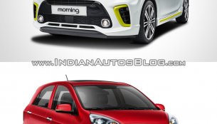 2017 Kia Picanto vs. 2015 Kia Picanto - Old vs. New
