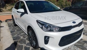 Global-spec 2017 Kia Rio Sedan spied undisguised in Mexico