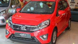 2017 Perodua Axia reaches showrooms in Malaysia