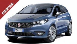 Euro-spec Fiat Punto successor - Rendering