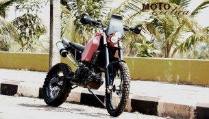 How about this custom KTM Duke 390 Enduro by MotoExotica