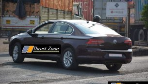 New VW Passat TDI (B8) Spied Testing in Pune