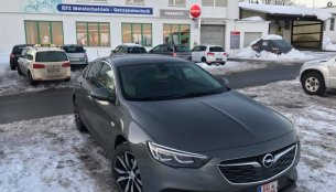 IAB reader spots the Opel Insignia Grand Sport in Germany ahead of its world debut