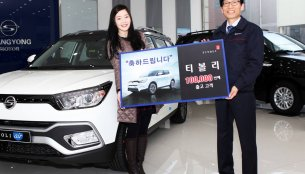 SsangYong Tivoli sales cross 100,000 units, emerges segment leader - South Korea