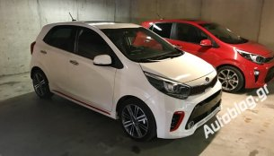 Euro-spec 2017 Kia Picanto spotted in Portugal