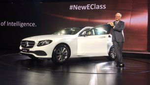 2017 Mercedes E Class (L213) launched in India at INR 56.15 Lakhs