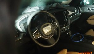 Interior of the 2017 Volvo XC60 exposed