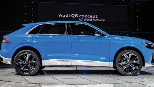 Audi Q8 showcased privately, confirmed to debut in June this year