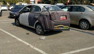 2017 Chevrolet Beat Essentia spied camouflaged