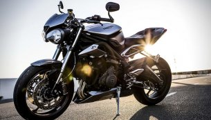 2017 Triumph Street Triple to launch in India on June 12