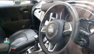India-spec 2017 Jeep Compass interior spied [Video]